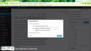 ایجاد لینک در وب سایت