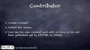 آموزش نقش های وردپرس