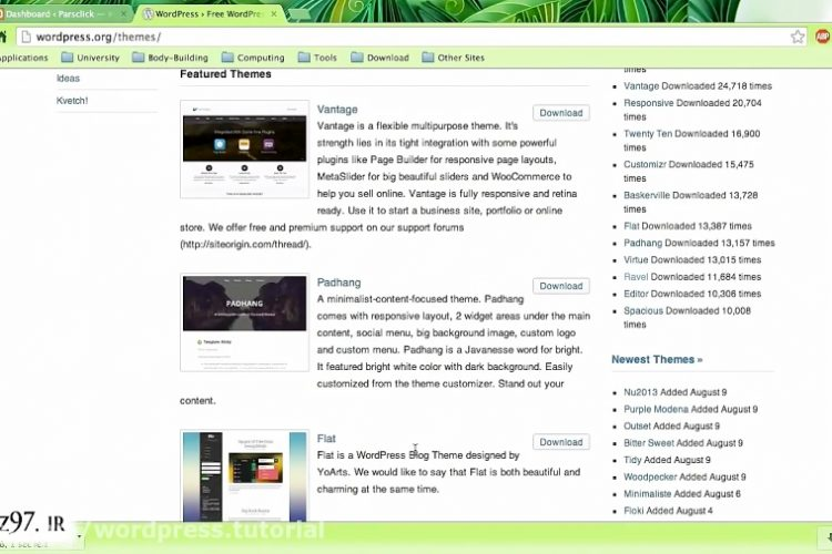 upload theme files in wordpress