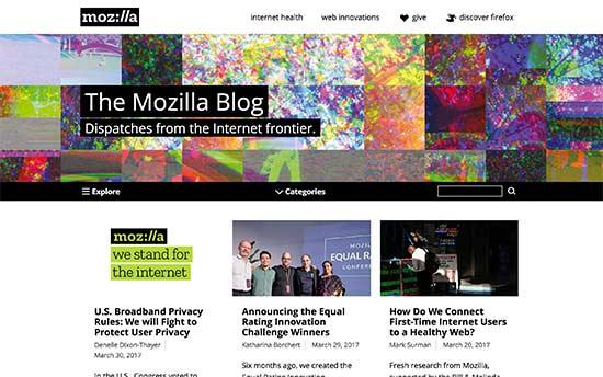 وبلاگ موزیلا